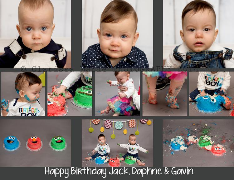 WEB ONLINE USE Daphne, Jack & Gavin Cake Smash May 17 2014 (26)