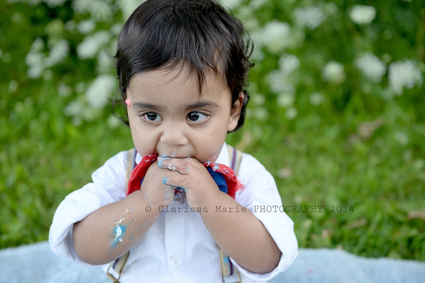 WEB ONLINE USE Vihaan Cake Smash Aug 15 2014 (27)